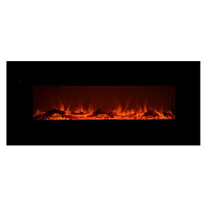 Touchstone Store 80001 - Onyx Electric Fireplace - Best Electric Fireplace for Bedroom: Functions with or without heat