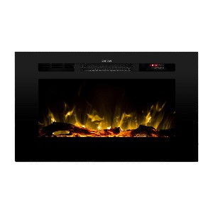 Touchstone 80028 - The Sideline Electric Fireplace - Best Electric Fireplace for RV: Best for shallow wall or cabinet