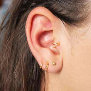 Tiny Box Jewelry Tragus Earring - Best Jewelry for Tragus Piercing: Highly versatile