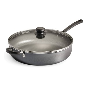 Tramontina PrimaWare 5 Quart Non-Stick Covered Jumbo Cooker - Best Non Stick Frying Pan with Lid: Dishwasher-safe frying pan