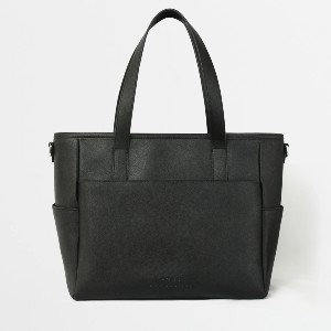 Pond LA Transform Tote - Best Tote Bags for Laptops: Custom Silver-Plated Metal Hardware