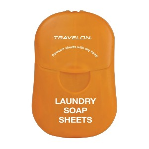 Travelon Laundry Soap Sheets - Best Laundry Detergent Sheets: Backpacking Sheets