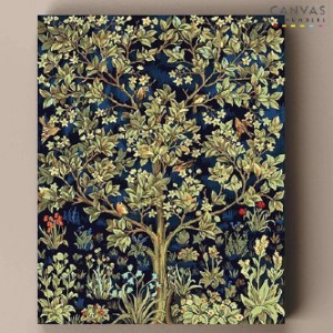 Canvas by Numbers Tree of Life - William Morris - Best Paint by Number Kits for Adults: Flowery Painting