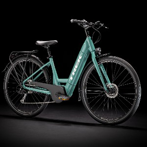 Trek Verve+ 3 Lowstep - Best Electric Bike for Seniors: Better Balance with Battery Fully Encased in The Frame