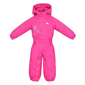 Trespass Kids' Drip Drop Outdoor Rain Suit - Best Raincoats for Toddlers: High quality