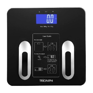 Triomph Precision Body Fat Scale - Best Weight Scale for Body Fat: Best economical pick