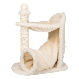 Trixie Baza Gandia Scratching Post with Hammock, Tunnel, Cat Tree - Best Cat Tree for Senior Cats: Affordable Cat Tree