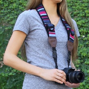 USA GEAR TrueSHOT - Best Camera Straps for Hiking: No Accessory Left Behind