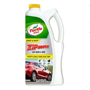 Turtle Wax Store Zip Wax Liquid Car Wash and Wax - Best Car Wash Soap: Advanced foaming car wash soap