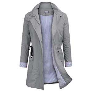Twinklady Rain Jacket Women - Best Raincoats with a Suit: Functional and flattering