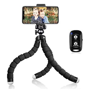 UBeesize Tripod S - Best Mini Tripods for Smartphone: Control from distance