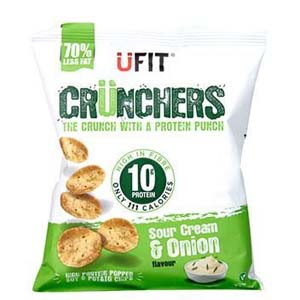 UFIT Crunchers Smokehouse BBQ - Best Healthy Snack: No more unhealthy fats and unwanted calories