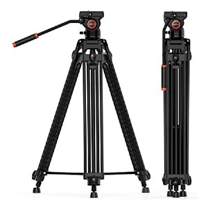 Geekoto 2 inches Heavy Duty Tripod - Best Tripods for Video Camera: Heavy duty but not heavy