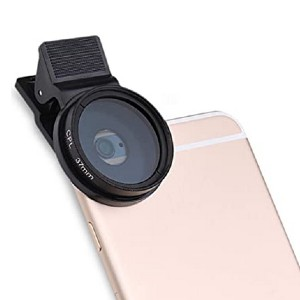 UKCOCO 37mm CPL Filter Lens Circular Polarizer - Best Circular Polarizing Filters for Iphone: Sleek design