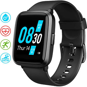 UMIDIGI UFit Health and Fitness Tracker - Best Fitness Trackers: 5 ATM Waterproof Smart Watch