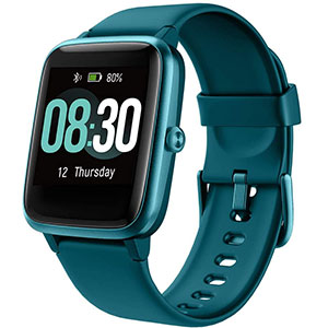 UMIDIGI Smart Watch Uwatch3 Fitness Activity  - Best Fitness Trackers: All Day Heart Rate Monitoring