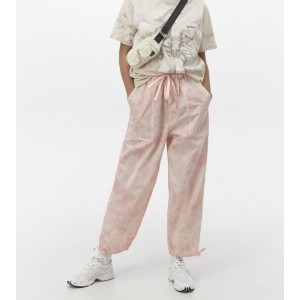 Urban Outfitters Tie-Dye Nylon Jogger Pant - Best Cheap Sweatpants Women: Tapered Silhouette Finished