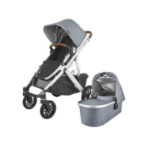 UPPAbaby VISTA V2 - Best Stroller Car Seat Combo: Removable, Machine-Washable Fabric