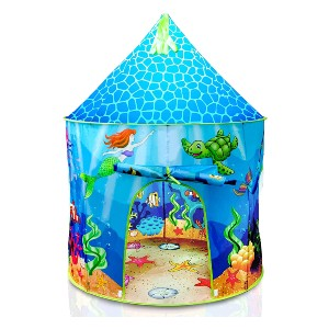 USA Toyz Under The Sea Kids Tent - Best Tents for Kids: Dive Into an Underwater Playspace Tent