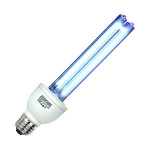 Coospider U/V/C Light Bulb 253.7nm - Best UV-C Germicidal Lamp: 100% Satisfaction and Money-Back Guarantee