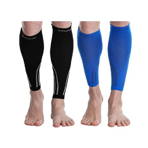 Udaily  Calf Compression Sleeves - Best Leg Compression Sleeves: Versatile Use for Men and Women
