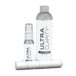 Ultra Clarity Eyeglass Cleaning Spray - Best Cleaning Solution for Eyeglasses: Ideal for Lenses and Screen Surfaces