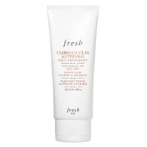 Umbrian Clay Mattifying Face Exfoliant - Best Face Scrub for Oily Skin: Scrub for Purify Skin