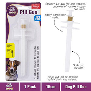 Unbranded Pusher Feed Dog - Best Pill Shooter for Dogs: Soft Rubber Tip Shooter