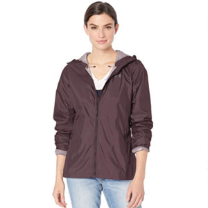 Under Armour Women's Forefront Rain Jacket - Best Raincoats for Travel: The two layer bonded fabric rain jacket