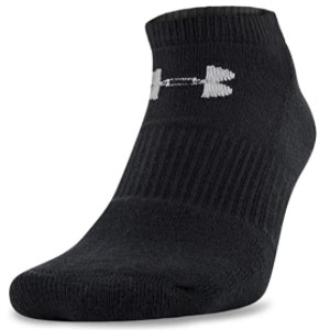 Under Armour  Cotton 2.0 No Show Socks - Best Socks for Men: Anti-odor Technology Helps Prevent Odor in The Sock