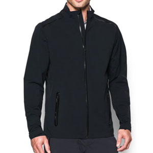 Under Armour Store Men's Storm Gore-TEX Paclite Jacket - Best Raincoats for Golf: Adjustable hem and cuffs