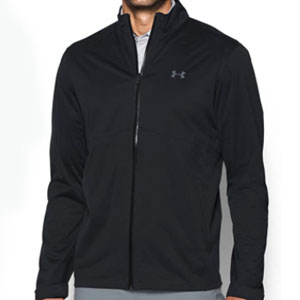 Under Armour Store Men's Storm rain Jacket - Best Raincoats for Golf: Two layers of waterproof bonded fabric
