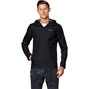 Under Armour  Men's Forefront Rain Jacket - Best Rain Jackets for Running: Extremely Waterproof and Comfortable to Wear