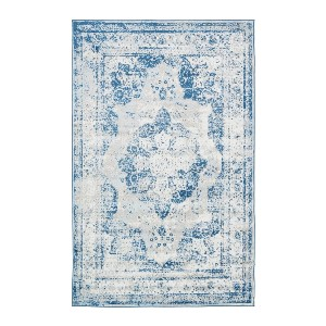 Unique Loom Sofia Collection Traditional Vintage Area Rug - Best Rug to Have with Dogs: Stain-resistant and does not shed