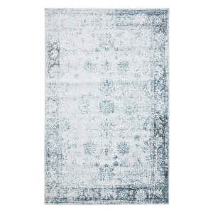 Unique Loom Sofia Collection Traditional Vintage Area Rug - Best Rug for Under Kitchen Table: Stain-resistant and does not shed