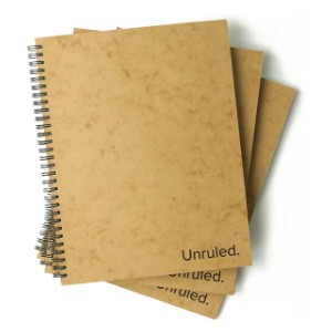 Unruled  Notebook - Best Notebooks for College: Proudly Designed and Made in the USA