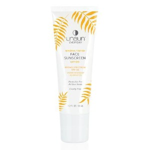 Unsun Cosmetics EVERYDAY Mineral Tinted Face Sunscreen - Best Sunscreen Lotion for Face: Sunscreen and Smoother Face Skin