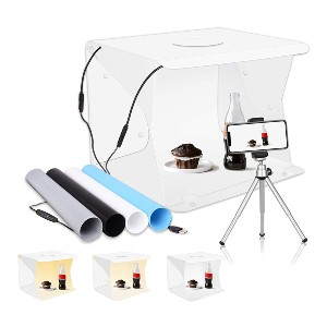 Emart Photography Table Top Light Box - Best Small Photo Light Box: A whopping 8800 reviews