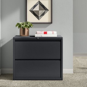 Upper Square™ Harietta 2-Drawer Lateral Filing Cabinet - Best Lateral File Cabinets: Minimalist File Cabinet