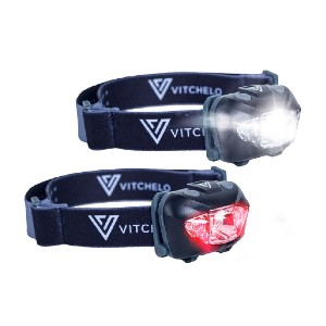Vichelo V800  - Best Headlamps for Running: Headband soft, strong and very good looking.