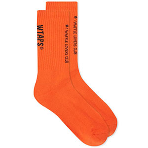 Vans VAULT X WTAPS CREW SOCK - Best Socks for Men: Ribbed Cuffs Comfortable