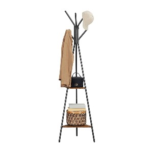 VASAGLE Coat Rack Stand - Best Coat Rack for Small Spaces: Handles a lot of stuff