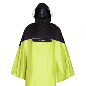VAUDE Store Poncho Covero - Best Raincoat for Boating: Easy to Put On and Off Raincoat