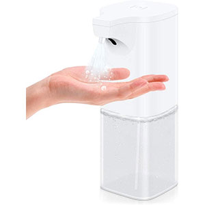 VEEAPE Infrared Automatic Induction Touchless Liquid Dispenser 350ml - Best Hand Sanitizer Dispenser: Easy to Operate with ABS Material Dispenser
