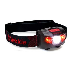 Vekkia Ultra Bright CREE LED Headlamp - Best Headlamps for Hiking: Look and Feel Great Wearing It