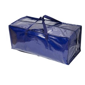 VENO Heavy Duty Extra Large Moving Bags  - Best Storage Containers for Moving: Folded up completely flat