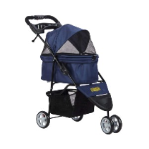VIAGDO Pet Strollers - Best Dog Strollers for Small Dogs: Quickly Set Up and One Hand Folding