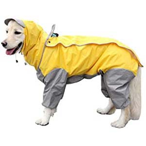 VICTORIE Dog Raincoat Pet Rain Snow Jacket - Best Raincoats for Big Dogs: Free from mud and dirt