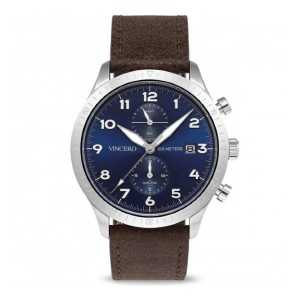 VINCERO BLU-SILB-A05 - Best Waterproof Watches: Better Visibility Under Poor Light Areas