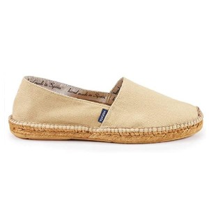 VISCATA Men's Sitges Canvas Authentic and Original Espadrilles - Best Slip-On Sneakers for Men: Authentic Canvas Slip-On